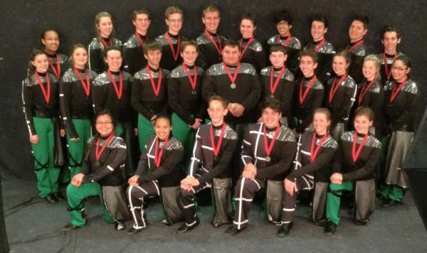 TCHS Drumline Silver Medals