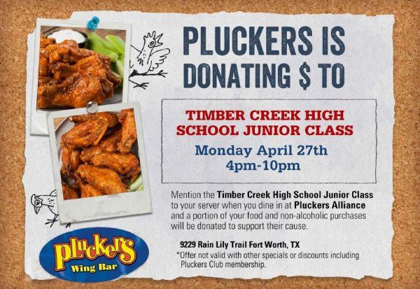pluckers junior class