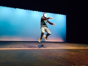 Photo from 2015 Talent Show dress rehearsal. (Photos courtesy of Tanner Wilemon)