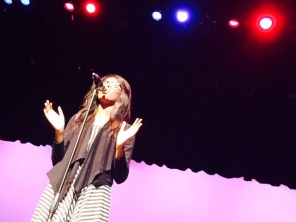 Photo from 2015 Talent Show dress rehearsal. (Photos courtsey of Tanner Wilemon)