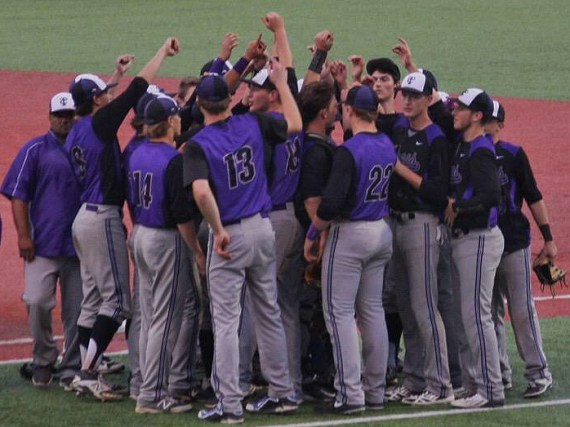Timber Creek varsity baseball after their May 8 playoff win. (Photo courtesy of Katrena Brandt)