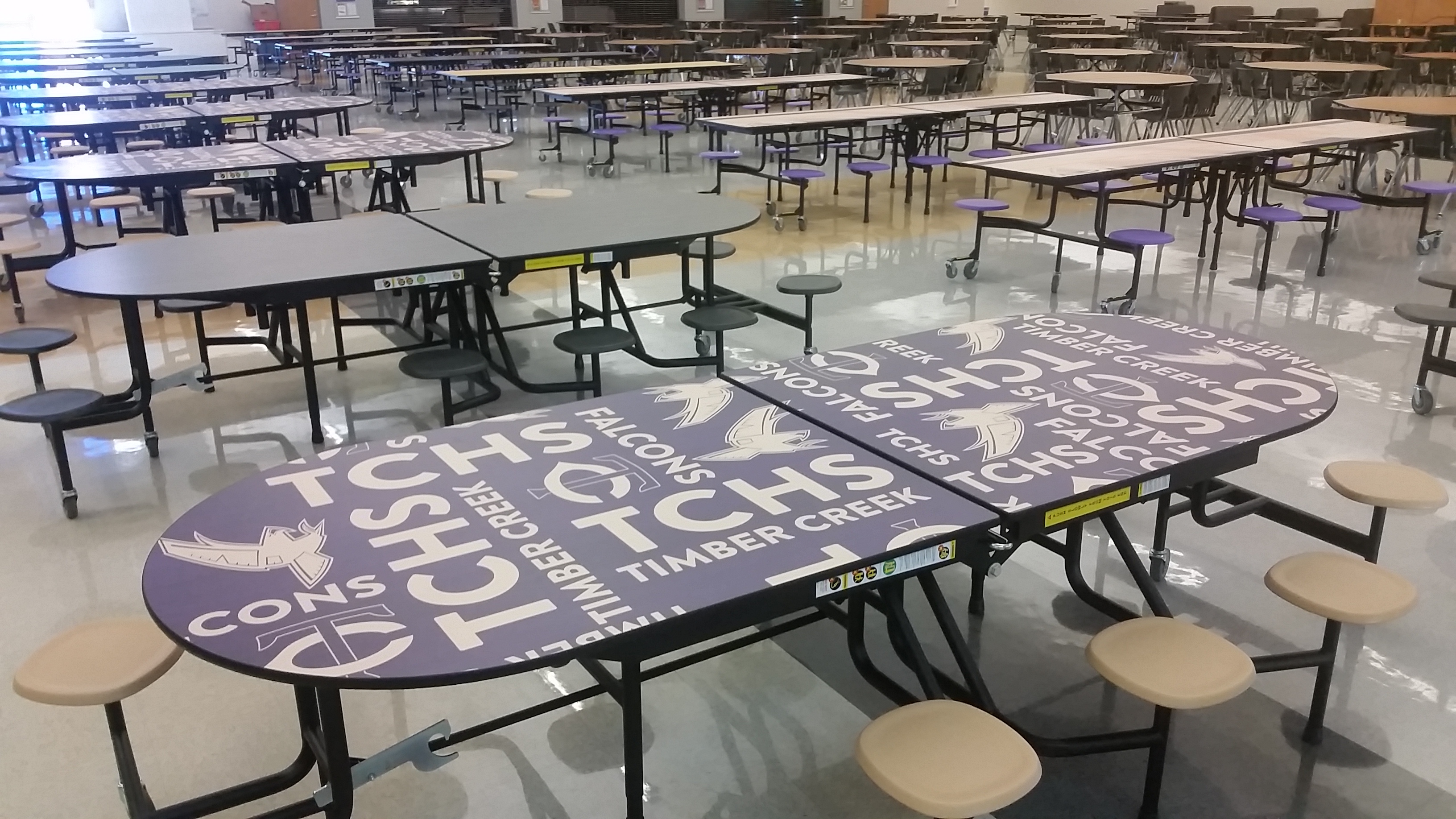 Outdoor school lunch table - Timber Creek High School Students Have Seen Many Colorful Improvements As They Start The School Year