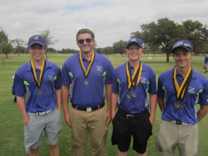 jv boys golf