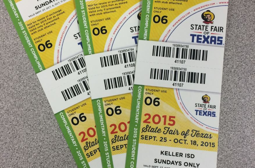 Free Tickets Available For Students To >> Free State Fair Tickets Available At Lunches Timber Creek Talon