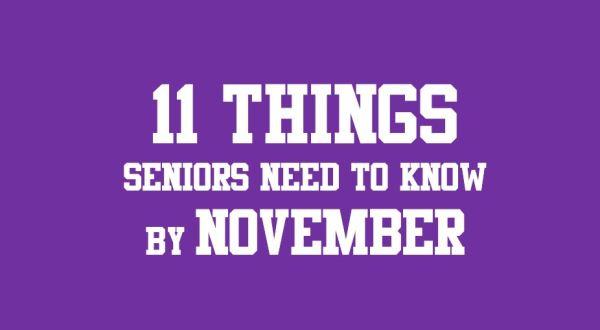 11 things seniors