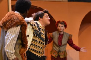 Photos from a Oct. 5, 2015 dress rehearsal of TCHS Theatre's Taming of the Shrew. (Photos by The Creek Yearbook photographer Mason Chavez.)