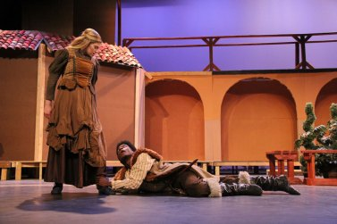 Photos from a Oct. 5, 2015 dress rehearsal of TCHS Theatre's Taming of the Shrew. (Photos by The Creek Yearbook photographer Monica Miles.)