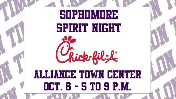 sophomore spirit night 10 6