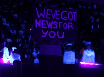 Photos from the Oct. 16, 2015 Lights Out pep rally from The Creek Yearbook photographer Sabrina Trejo.