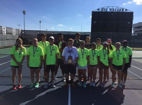 The 2015 TCHS JV tennis team.