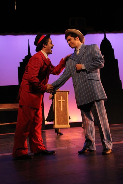 Photos from a dress rehearsal of Guys and Dolls on Dec. 7, 2015. (Photos by The Creek Yearbook photographer Milly Orellana.)