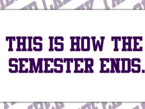 semester end fall 2015 promo