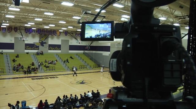 The Broadcast Journalism class brings live games produced and run entirely by students.