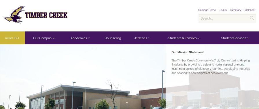 new campus website