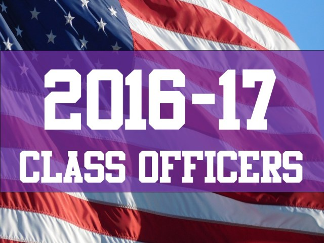 2016-17 class officers