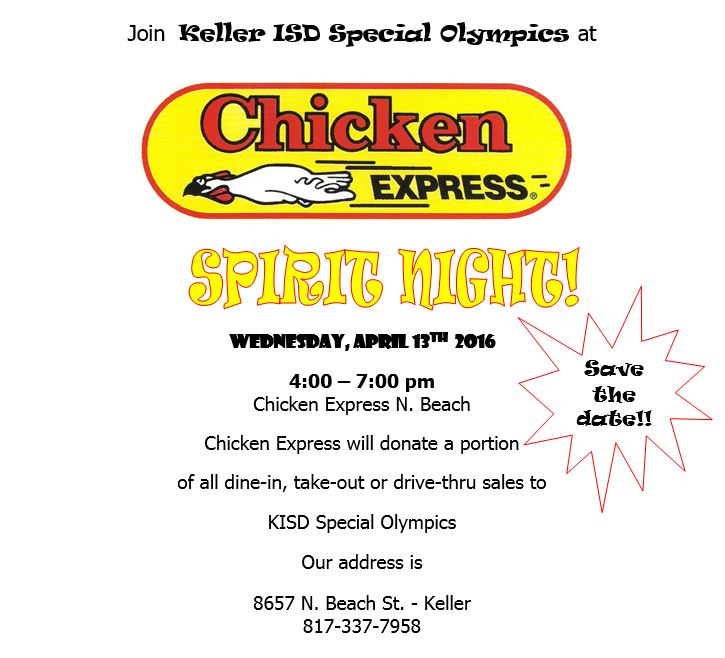 special-oly-chicken-express-fundraiser-april 13