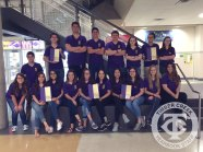 The 2015-16 Creek Yearbook staff.