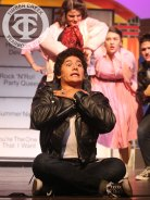 "Photos from the Gold Cast of the district-wide musical, ""Grease"" (Photo by The Creek Yearbook photographer Kelsey Crawford.)"