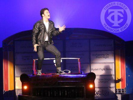 "Photos from the 2016 District Wide Musical ""Grease"" (Photo by The Creek Yearbook photographer Kelsey Crawford)"