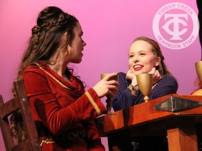 """Photos from a dress rehearsal of """"Robin Hood"""" (Photos by The Creek Yearbook photographer Lindsay Garner.)"""