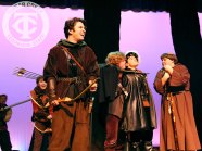 "Photos from a dress rehearsal of ""Robin Hood"" (Photos by The Creek Yearbook photographer Lindsay Garner.)"