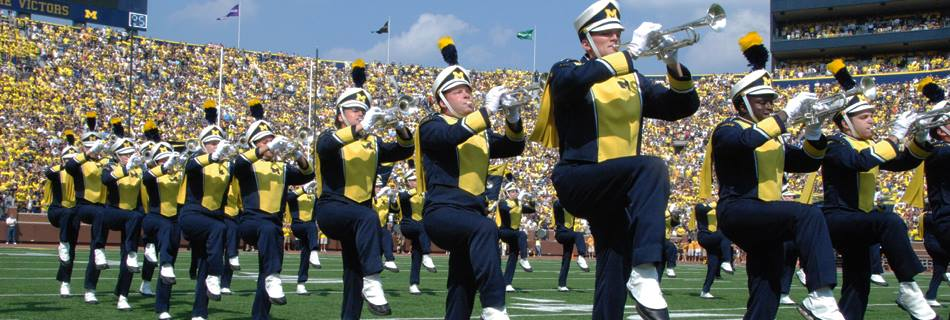 University Of Michigan Marching Band To Rehearse At TC