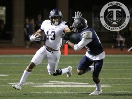 Photos from the varsity Timber Creek football vs. Flower Mound game on Sept. 8, 2017. (Photo by Marisa Harris.)