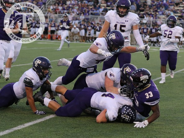 Photos from Timber Creek Varsity Football vs. Denton on Sept. 22, 2017. (Photos by Taylor Deker.)