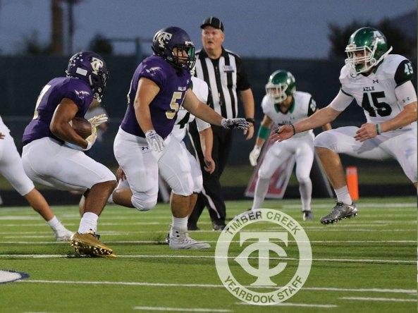 Photos from the Sept. 8, 2017 Timber Creek varsity football game vs. Azle. (Photos by Taylor Deker)