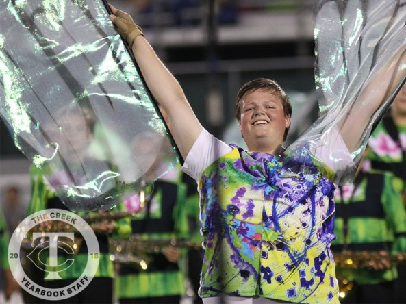 Photos from the 2017 Homecoming Game on Oct. 13, 2017 (Photos by The Creek Yearbook photographer Nathan Frost)