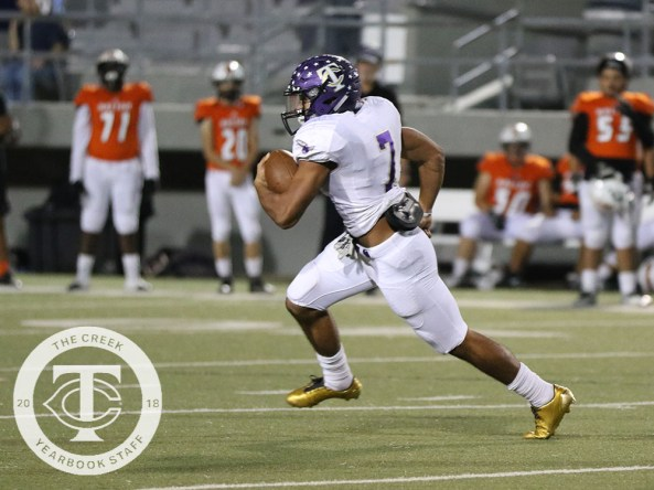 Photos from the Oct. 19, 2017 varsity Timber Creek football game vs. Haltom. (Photos by The Creek Yearbook photographer Taylor Deker.)