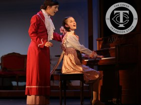 "Photos from a media preview of Timber Creek Theatre's ""The Music Man."" (Photos by The Creek Yearbook photographer Alexa Evans.)"