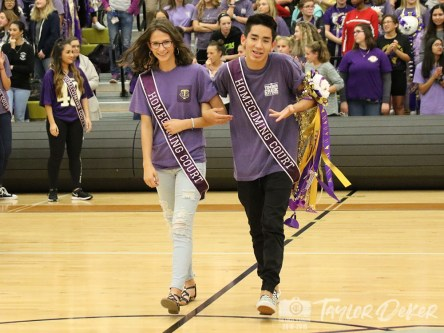 Photos from the Oct. 18, 2018 Homecoming Pep Rally from The Creek Yearbook photographers. (Photos by Taylor Deker)
