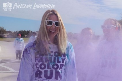 Photos from the Nov. 10, 2018 Falcon Family Color Run from The Creek Yearbook photographer Ainsley Lawhorne.