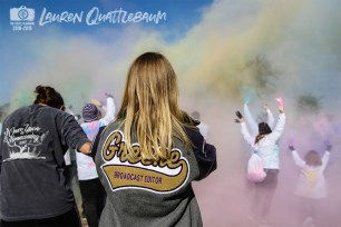 Photos from the Nov. 10, 2018 Falcon Family Color Run from The Creek Yearbook photographer Lauren Quattlebaum.