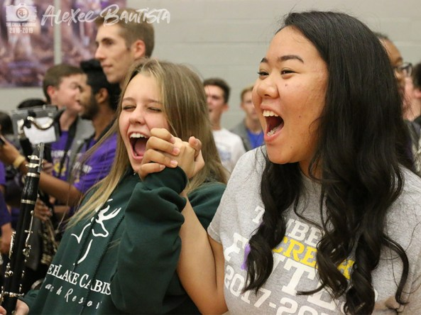 Photos from the Nov. 2, 2018 Senior Pep Rally. (Photo by The Creek Yearbook Photographer Alexee Bautista)