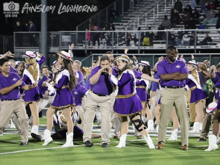 Photos from the Nov. 2, 2018 Senior Night football game against Central High School. (Photo by The Creek Yearbook Photographer Ainsley Lawthorne)
