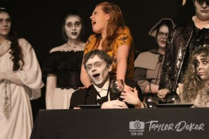 """Photos from the dress rehearsal of Timber Creek Theatre's """"The Addams Family"""" from The Creek Yearbook photographer Taylor Deker."""
