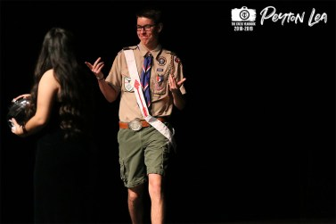 Photos from the senior fundraiser Mr.Falcon pageant on Feb.1, 2019. (Photo by The Creek Yearbook photographer Peyton Lea)