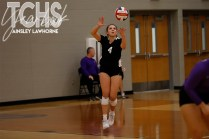 Photos from the Oct. 23, 2019 varsity volleyball game versus Eaton. (Photos by The Creek Yearbook photographer Ainsley Lawhorne.)