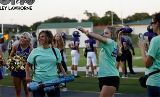 Photos from the Sept. 26, 2019 Gold Out Football Game. (Photos by The Creek Yearbook photographer Ainsley Lawhorne.)
