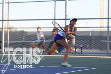Photos from the Oct. 8, 2019 District Championship Tennis Tournament. (Photos by The Creek photographer Sadie Becht)