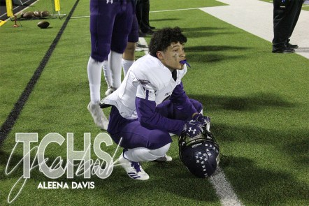 Photos from the Varsity Football Game against Central High School on Oct. 31. ( Photo by The Creek Yearbook Photographer Aleena Davis)