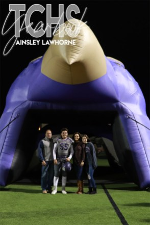 Photos from the Varsity Football Game Senior Walk on Nov. 7. (Photo by The Creek Yearbook Photographer Ainsley Lawhorne)
