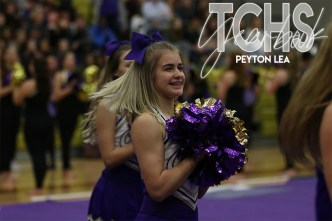 Photos from the the class of 2020s final pep rally on Nov. 7. (Photo by The Creek Yearbook photographer Peyton Lea)