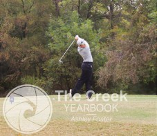 Photos from the Varsity Golf match at the Iron Horse Golf Course on Oct. 19. (Photo by The Creek Yearbook photographer Ashley Foster)