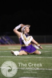 Photos from the Oct. 2 varsity football game vs. Burleson. (Photo by The Creek Yearbook photographer Ashley Foster)