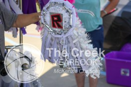 Photos from the annual SPED mum exchange on Oct. 7. (Photo by The Creek Yearbook Photographer McKenzie Chance)