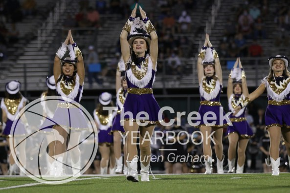 Photos from the Varsity Homecoming Football game vs. Richland High School on Oct. 9. (Photo by The Creek Yearbook photographer Lauren Graham)