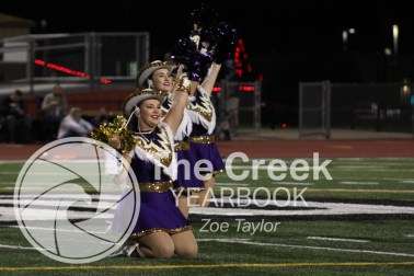 Photos from the Oct. 2 varsity football game vs. Burleson. (Photo by The Creek Yearbook photographer Zoe Taylor)